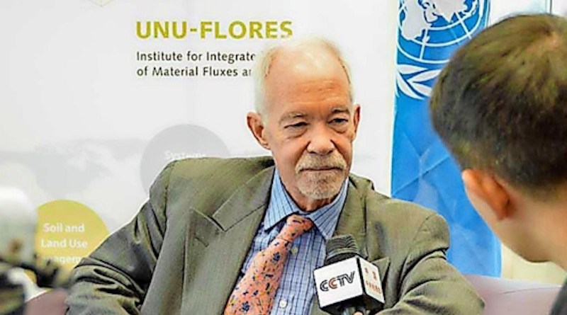 United Nations University Rector and Undersecretary General of the UN, Dr. David M. Malone