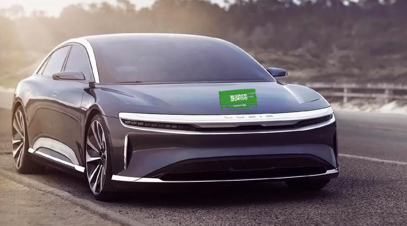 A Lucid Motors car. Photo Credit: Twitter