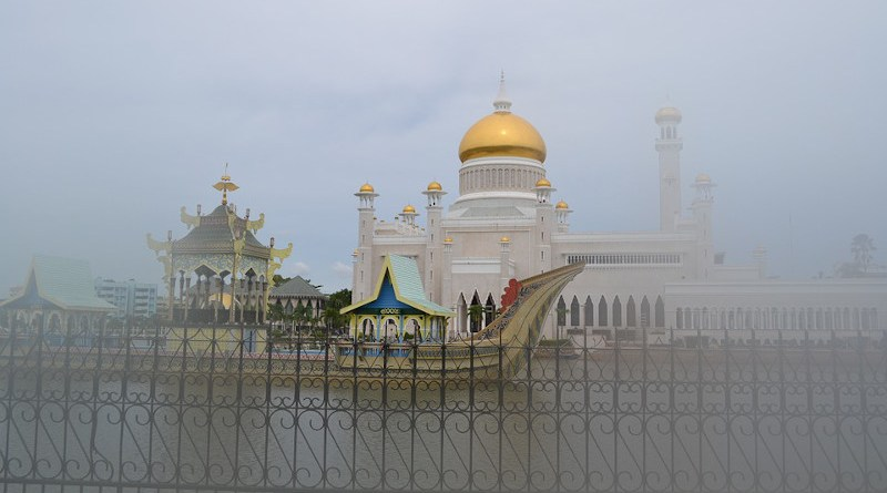 Mosque Golden Brunei Bandar Seri Begawan