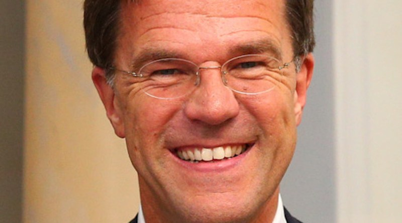 The Netherland's Mark Rutte. Photo Credit: Estonian Presidency, Wikipedia Commons