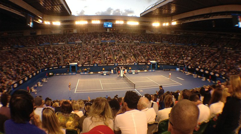 File photo of Australian Open tennis