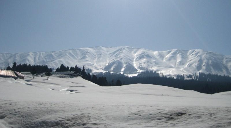 A view of Gulmarg under snow. Photo Credit: Khalid Bashir Ahmad
