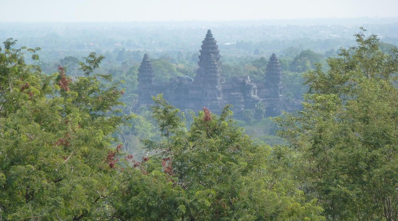 Archaeological studies of low-density, agrarian-based cities such as ancient Angkor Wat in Cambodia are increasingly being used to inform the development of more sustainable urban centres in the future. CREDIT Alison Crowther