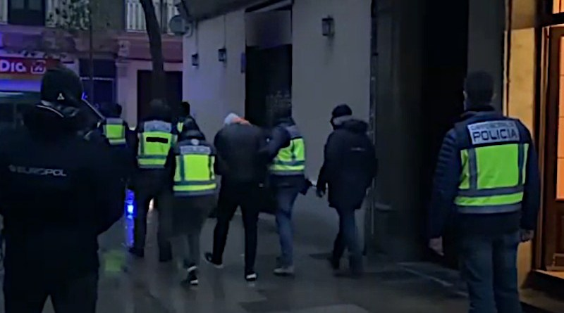 Returning fighter arrested in Barcelona, Spain. Photo Credit: Spanish National Police and Europol