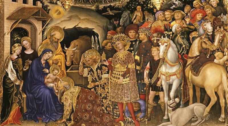 Adoration of the Magi by Gentile da Fabriano, 1423