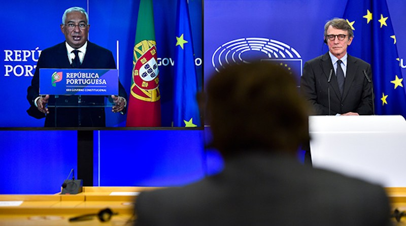 Press conference on the priorities of the Portuguese Presidency of the Council © European Union 2020 - Source : EP
