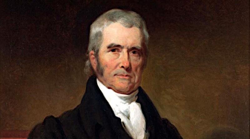 John Marshall by Henry Inman, 1832. Credit: Wikipedia Commons