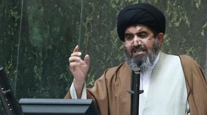 Iran's Seyyed Nasser Mousavi Laregani. Photo Credit: Iran News Wire