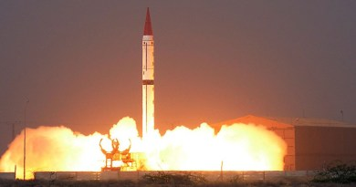 File photo of Pakistan launching a Shaheen-III Missile. Photo Credit: Inter Services Public Relations (ISPR)