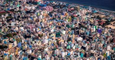 Malé, the capital of the Maldives