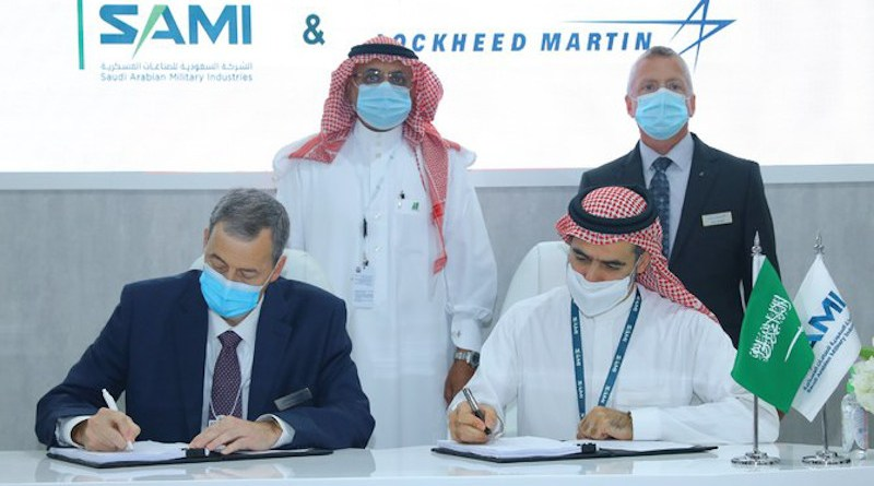 SAMI has signed an agreement to set up a joint venture with Lockheed Martin to enhance the Kingdom's defence and manufacturing capabilities. (@SAMIDefense)