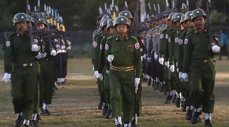 File photo of Myanmar Tatmadaw soldiers. Photo Credit: DMG