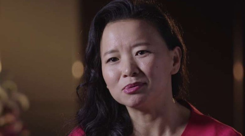 Australian journalist Cheng Lei. Photo: YouTube