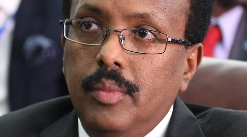 "Somalia's Mohamed Abdullahi Mohamed ""Farmajo"". Photo Credit: AMISOM Photo/Ilyas Ahmed, Wikipedia Commons"