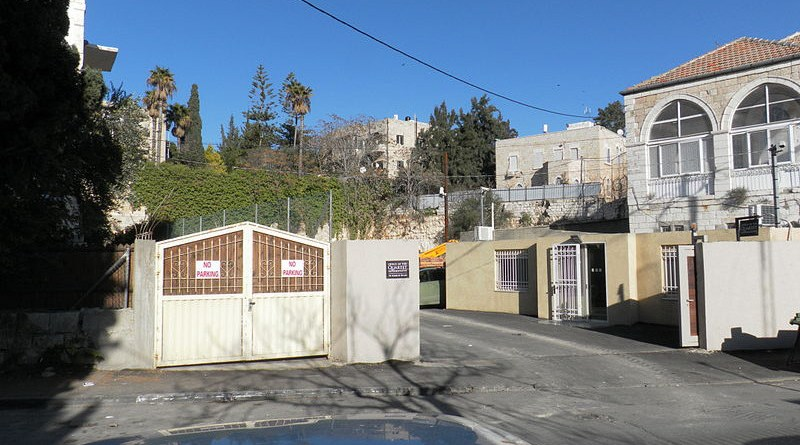 Offices of the Middle East Quartet in Jerusalem. Photo Credit: Biosketch, Wikipedia Commons