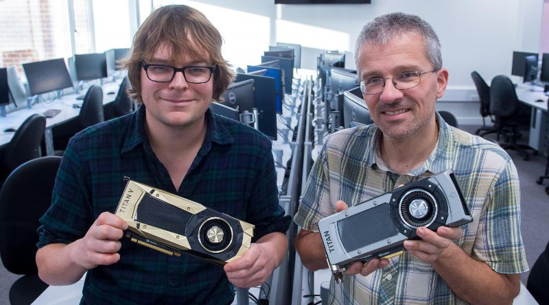 Dr James Knight and Prof Thomas Nowotny of the University of Sussex School of Engineering and Informatics. CREDIT Stuart Robinson/University of Sussex