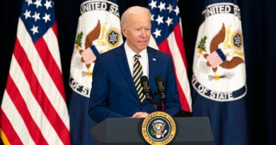 US President Joseph R. Biden, Jr. [State Department Photo by Freddie Everett/ Public Domain]