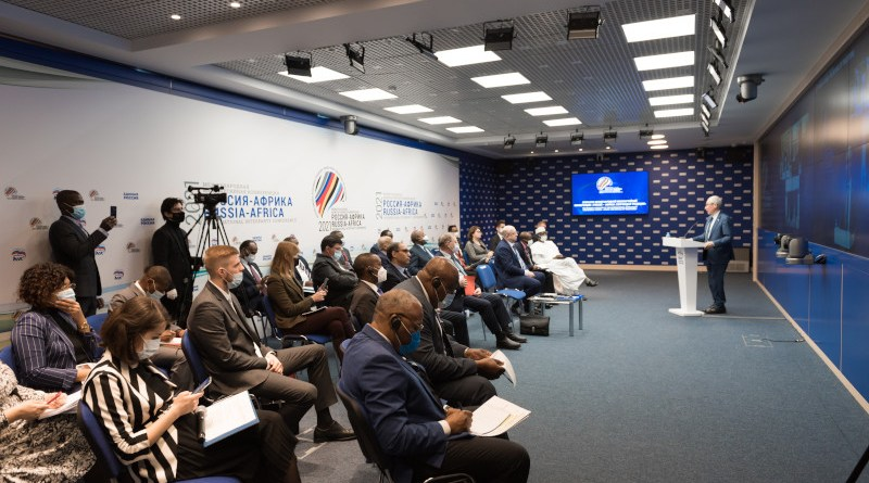 Russia-Africa inter-party conference. Photo supplied