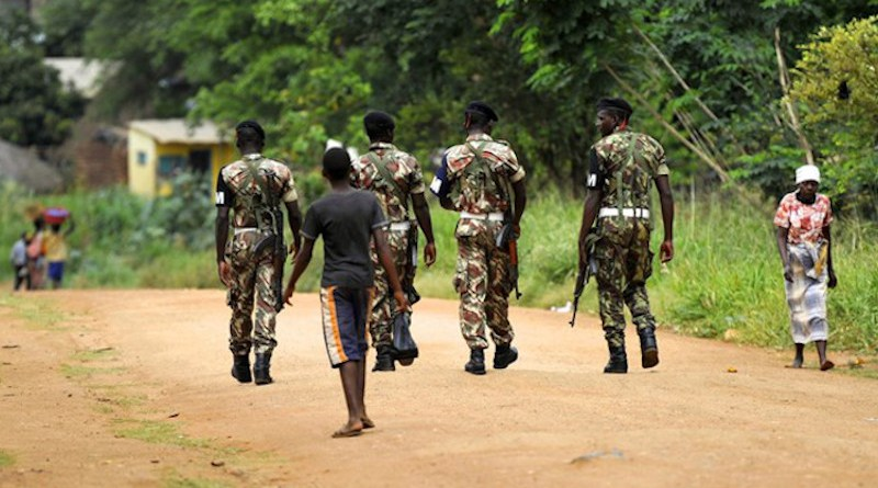 Soldiers on patrol in Mozambique. Photo Credit: Fars News Agency
