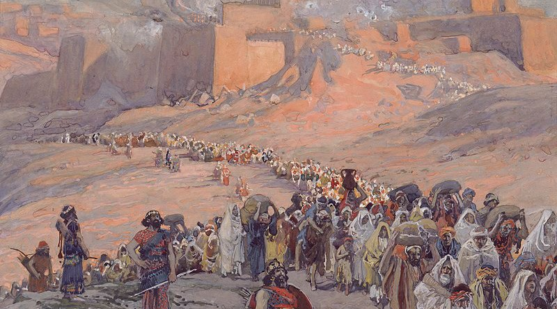 The Flight of the Prisoners, c. 1896-1902, Jacques Joseph Tissot: Source: Wikipedia Commons