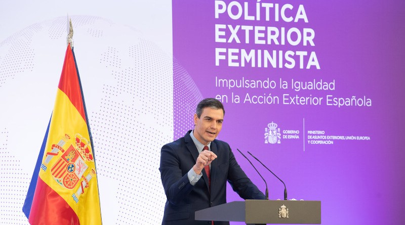 Spain's Prime Minister Pedro Sánchez. Pool Moncloa/Borja Puig de la Bellacasa