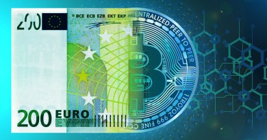 Euro Transformation Digital Visualization Cyrptocurrency