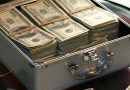 Briefcase Money Dollars Success Business Finance Cash