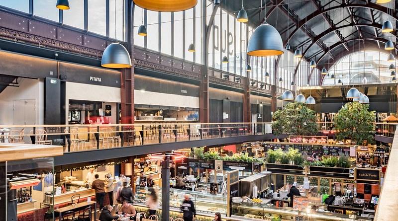France Business Market Nice South Station Covered Market Market Halls