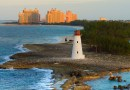 Bahamas Lighthouse Caribbean Sea Atlantis Travel