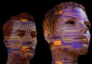 Artificial Intelligence Display Dummy Board Face Technology Think Human