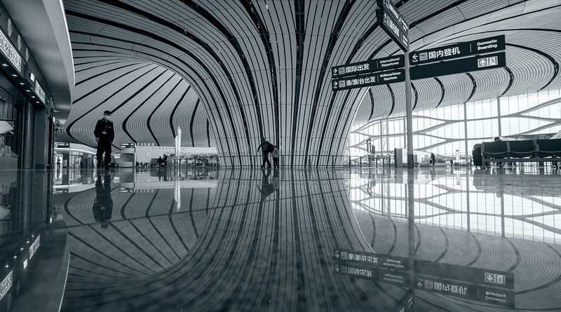 China Daxing Airport Building