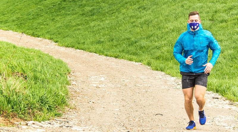 mask coronavirus covid-19 exercise running jogging