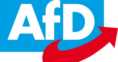 Logo of the Alternative for Germany (AfD) political party. Source: Wikipedia Commons