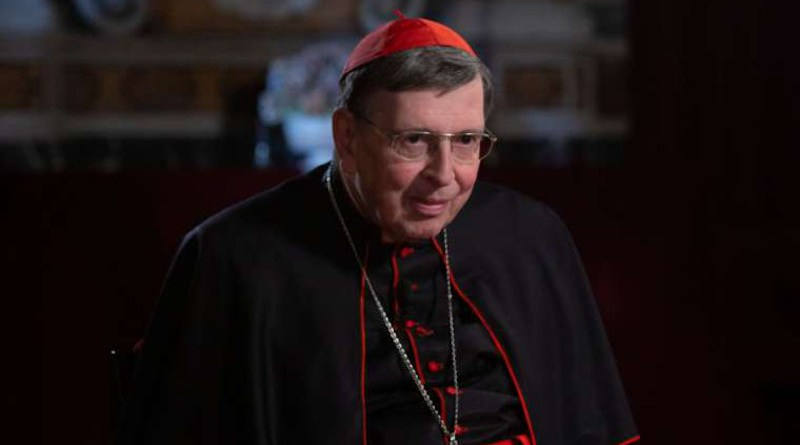 File photo of Cardinal Kurt Koch, president of the Pontifical Council for Promoting Christian Unity. Credit: Credit: Daniel Ibáñez/CNA.