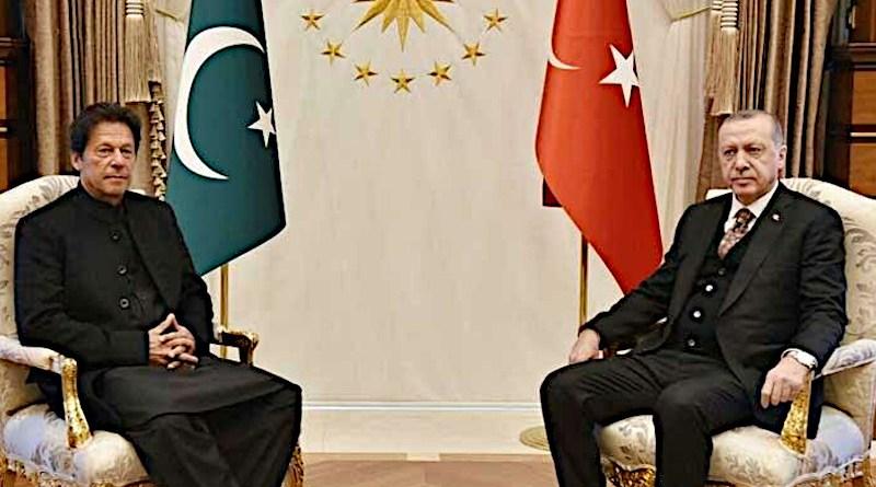File photo of Pakistan's Prime Minister Imran Khan with Turkey's President Recep Tayyip Erdoğan. Photo Credit: Mehr News Agency
