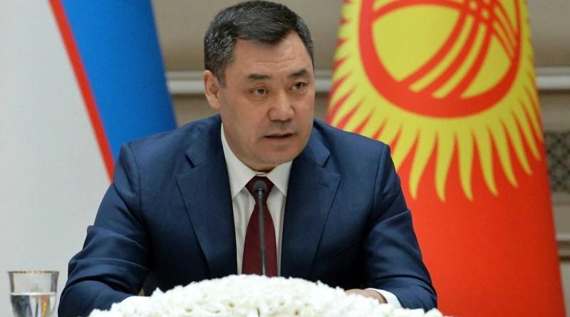 Kyrgyzstan President President Sadyr Japarov. Photo Credit: Kyrgyzstan government