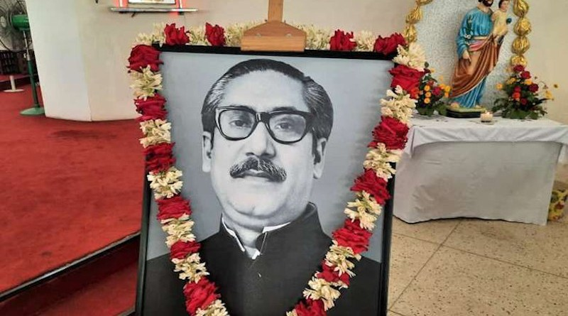 Catholic and Protestant churches held special prayers and Masses at churches all over Bangladesh to mark Sheikh Mujibur Rahman's birth anniversary on March 17. (Photo supplied)