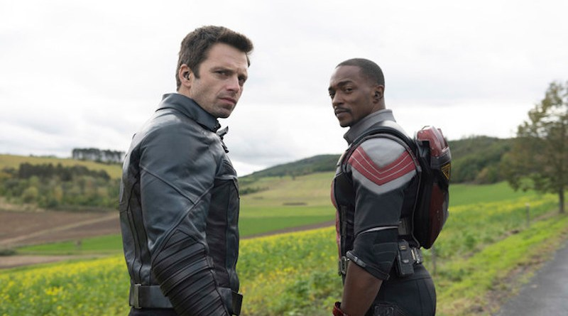 """The new Disney+ series """"The Falcon and the Winter Soldier"""" is now streaming on OSN. (Supplied)"""