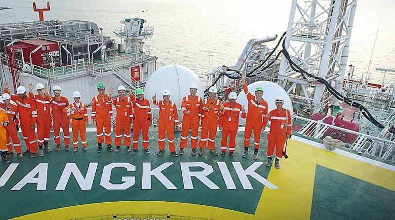 File photo of the Jangkrik Floating Production Unit (FPU). Photo Credit: Eni