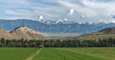 Kyrgyzstan The Ferghana Mountains The Ferghana Valley