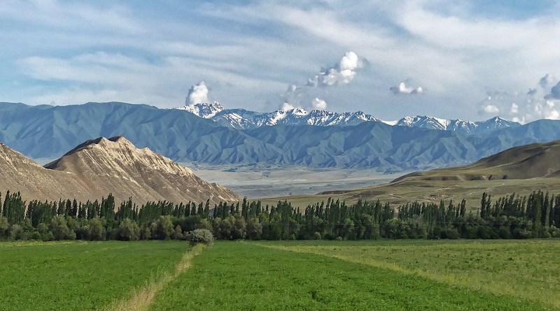 Kyrgyzstan The Ferghana Mountains The Ferghana Valley