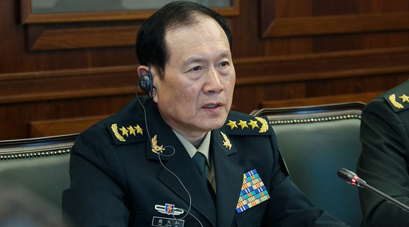 China's Defense Minister General Wei Fenghe. Photo Credit: Mil.ru