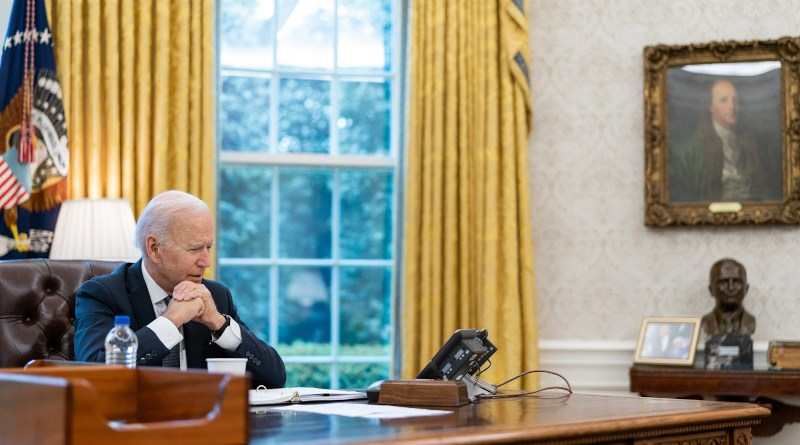 US President Joe Biden. Photo CreditL The White House