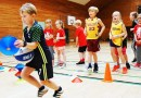 Children running a relay race as part of the Basketball Mathematics CREDIT Photographer: Allan Jørgensen, University of Copenhagen