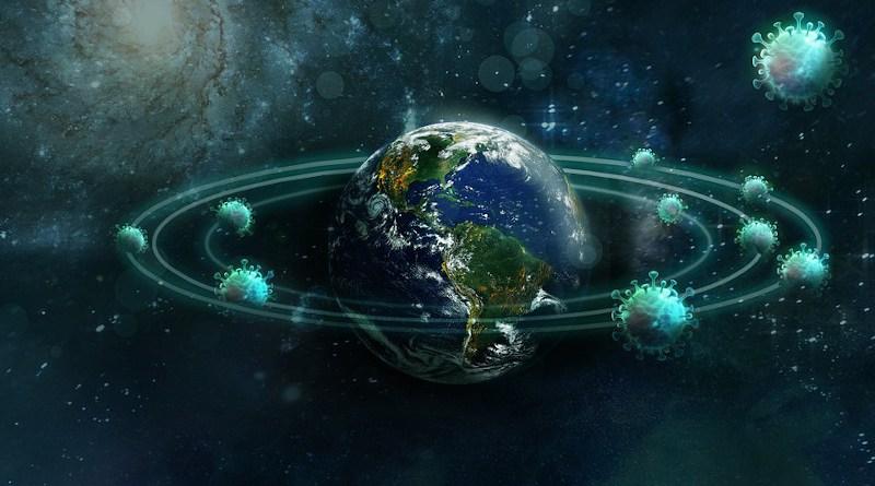 Virus Planet Pandemic Corona Globe Earth Health