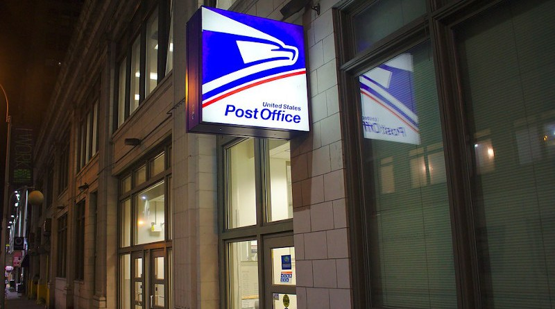 Usps Post Office Building Nyc City Logo