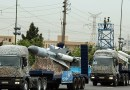 Iranian missiles on display in military parade. Photo Credit: Tasnim News Agency