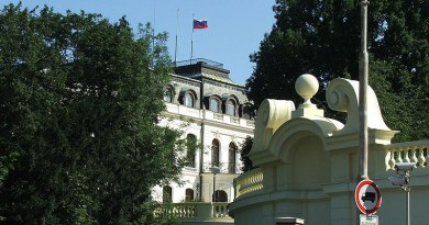 Embassy of Russian Federation in Prague, Czech Republic. Photo Credit: Krokodyl, Wikipedia Commons