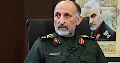 Iran's Brig. Gen. Mohammad Hejazi. Photo Credit: Mehr News Agency