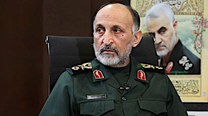 Iran's Brig. Gen. Mohammad Hejazi. Photo Credit: Mehr News Agency
